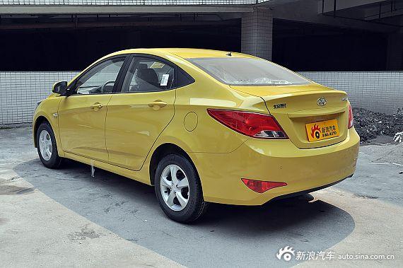 2014款瑞纳1.4L手动时尚型 迎春黄