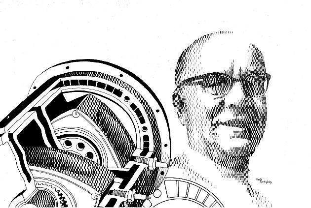 Felix Wankel 没有驾照的转子引擎之父