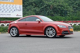 2011款TTS Coupe整体外观