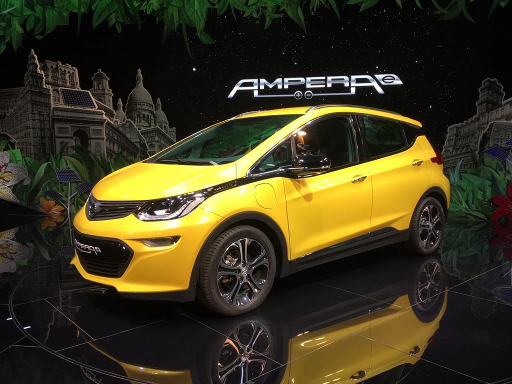 巴黎车展:欧宝Ampera-e发布