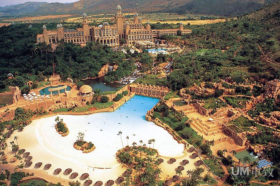 给你浪漫惊奇 南非太阳城度假村