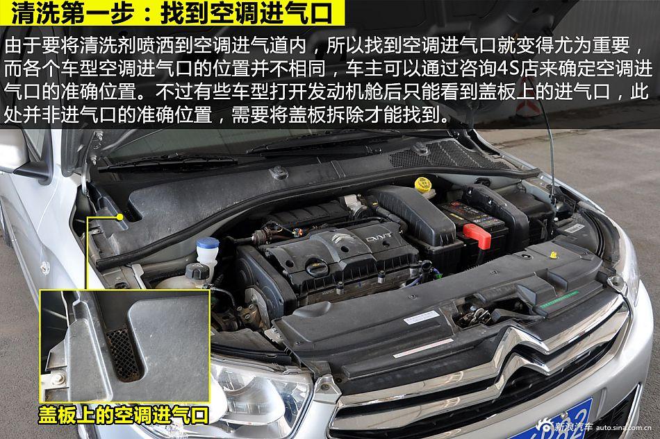 清凉一夏 谈汽车空调系统的养护与清洗; 汽车空调系统图解;