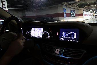 奔驰S400 HYBRID内饰