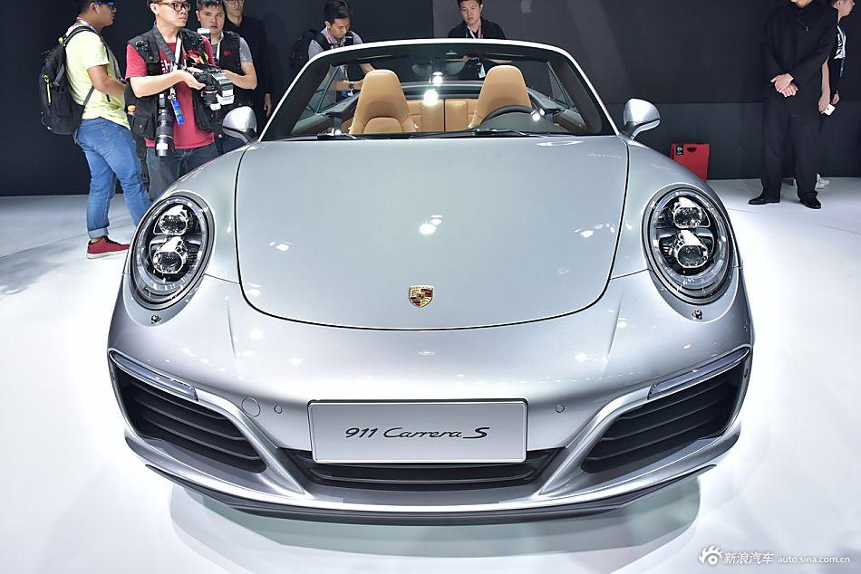 广州车展实拍保时捷911 Carrera S