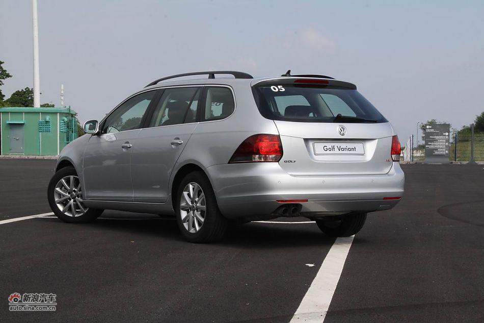 2011款高尔夫旅行轿车外形 高尔夫 进口外观图片 汽车图库 新浪汽车高清图片