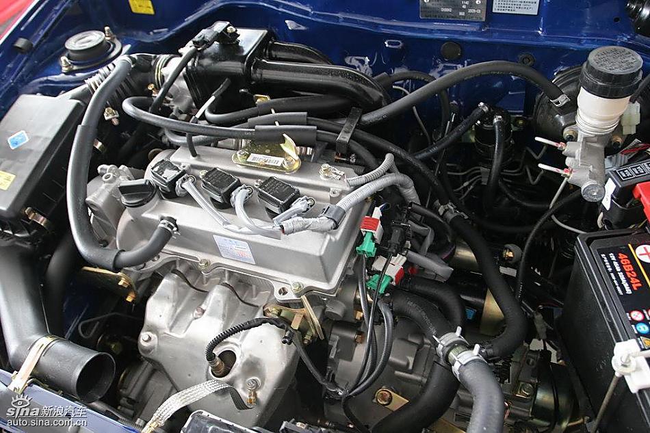 图为夏利n3 搭载1.0升3ga2发动机 夏利a 底盘图片 汽车图库 新浪汽车高清图片
