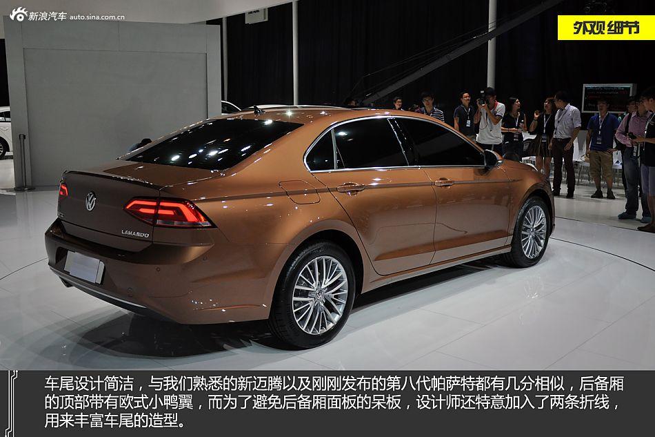 凌波微步 新浪汽车图解上海大众凌渡