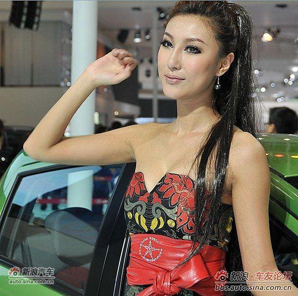 2011成都车展江淮模特图片