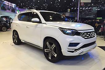 2016巴黎车展:双龙LIV-2概念车发布