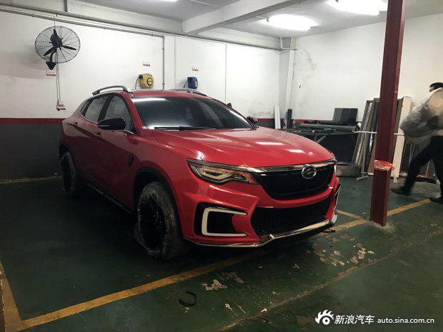 2016广州车展:陆风逍遥概念车实车