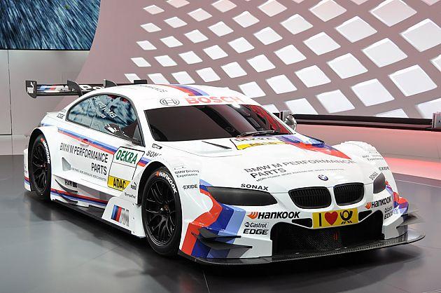 宝马M3 DTM赛车 亮相日内瓦车展