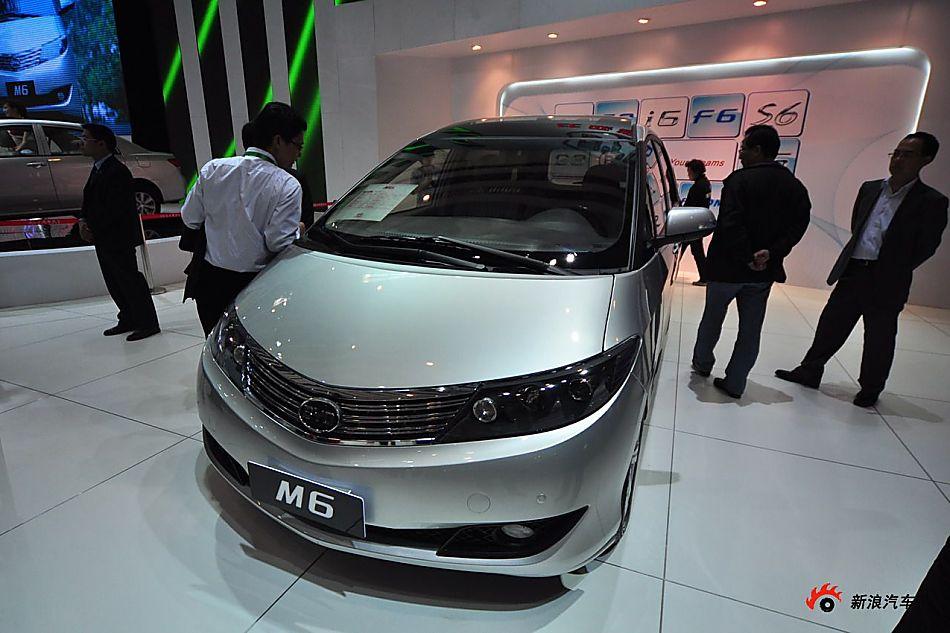 比亚迪m6 比亚迪m6车展图片256754 汽车图库 新浪汽车高清图片