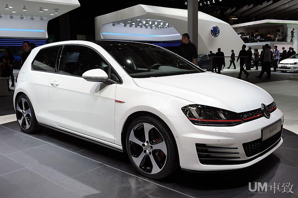 第7代golf+gti概念车巴黎车展亮相