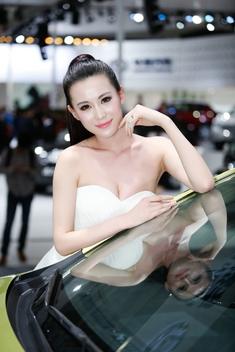 2014北京车展高清模特组图第4季