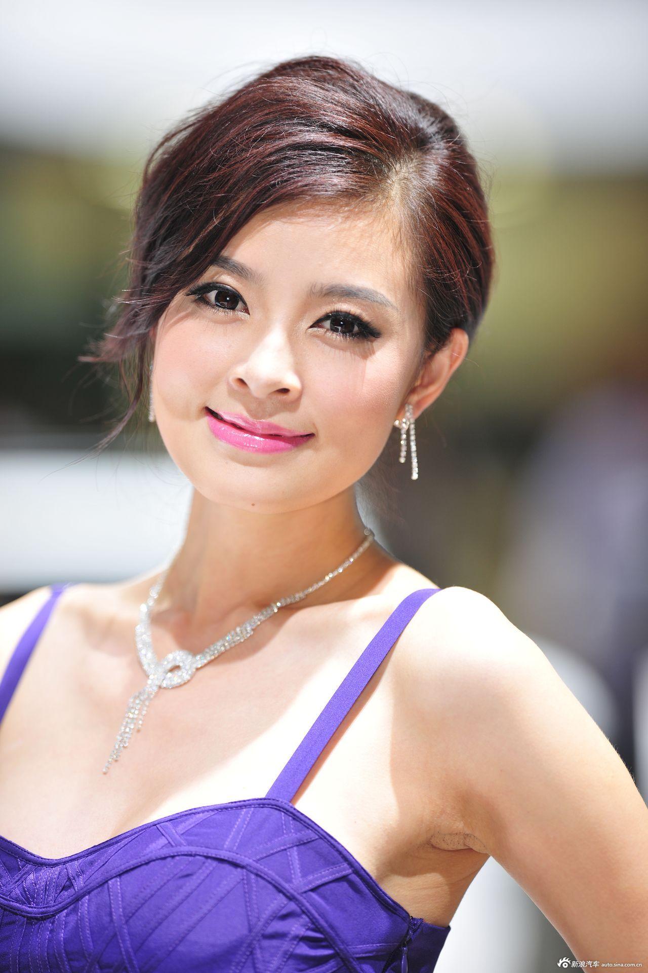 2012广州车展美女模特高清图第三季