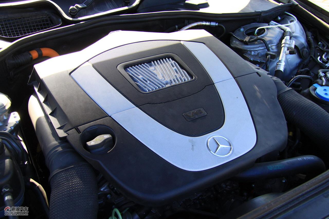 奔驰s400 hybrid发动机图片