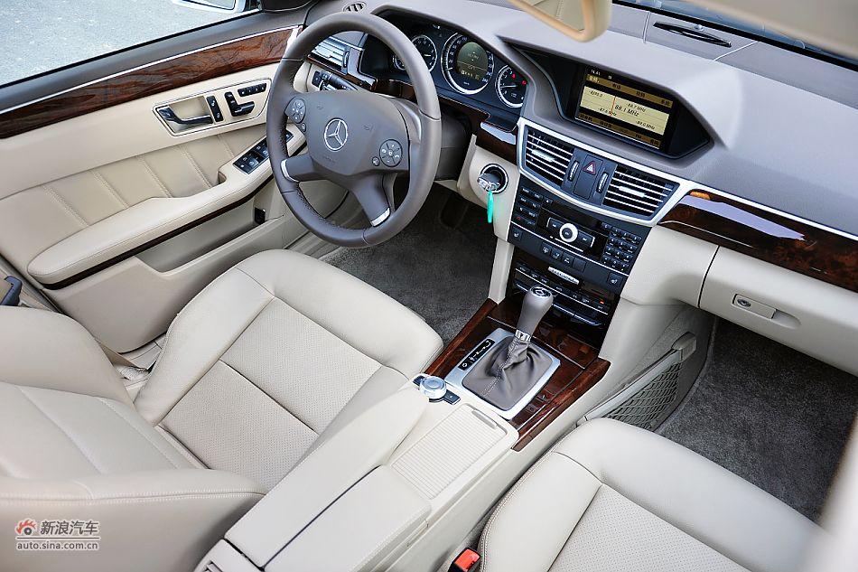 奔驰E200 CGI内饰 奔驰E级实拍图片4957131