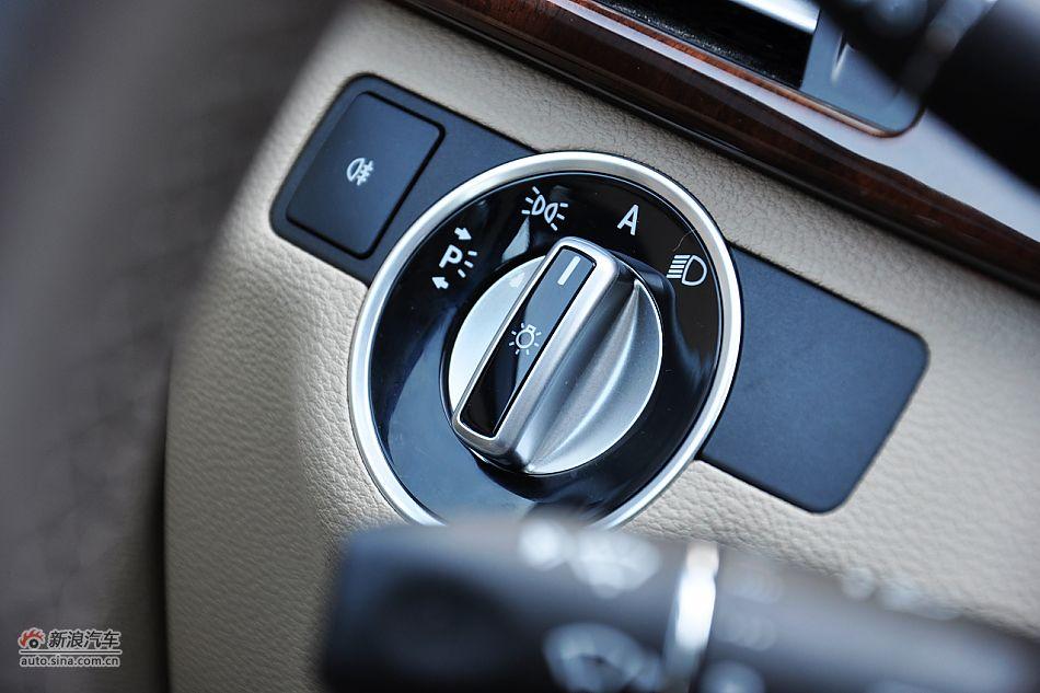 2011款奔驰E200L CGI优雅型内饰功能图片 -2011款奔驰E200 CGI优雅