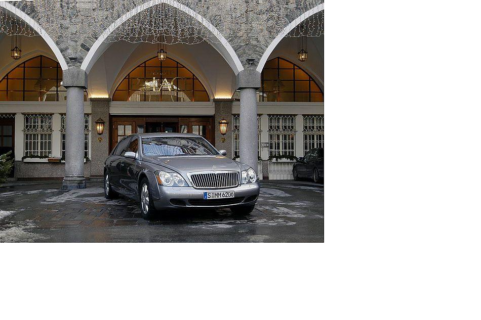 迈巴赫57超豪华轿车