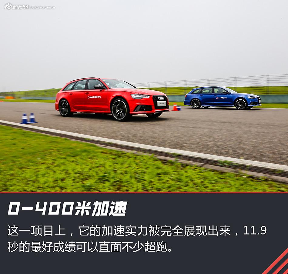 试驾奥迪RS6 Avant