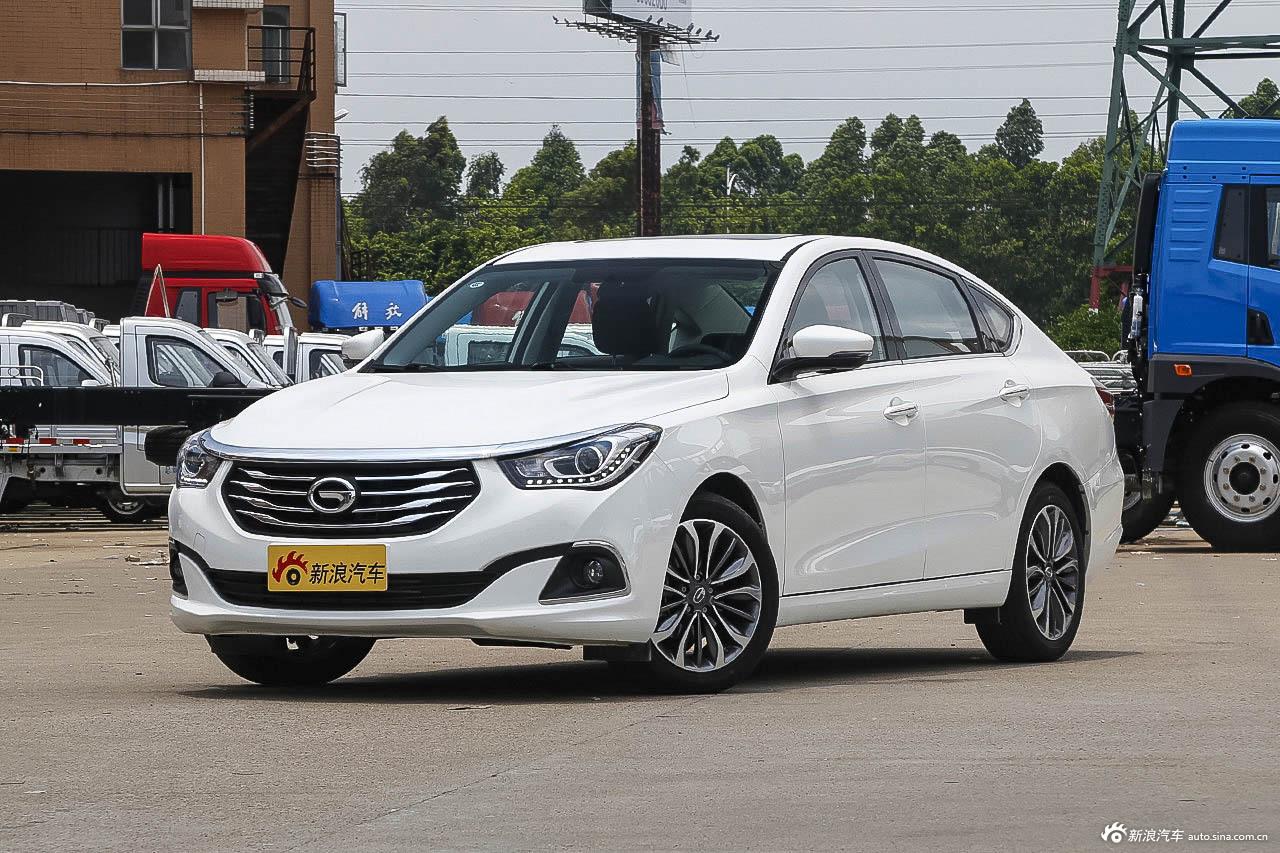 2016款传祺GA6 1.5T自动豪华版235T