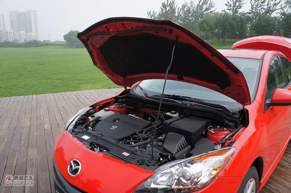 2011款马自达3星骋2.0自动 马自达3引擎底盘图片6707499高清图片