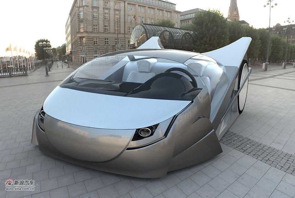 第四届中国汽车造型设计大赛创意复赛入选总决赛作品图片