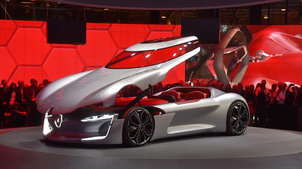 巴黎车展:雷诺TREZOR概念车