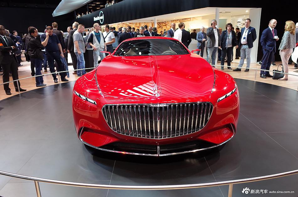 诠释未来 梅赛德斯-迈巴赫6概念车