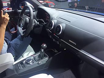 2016巴黎车展:奥迪RS 3 Sedan发布