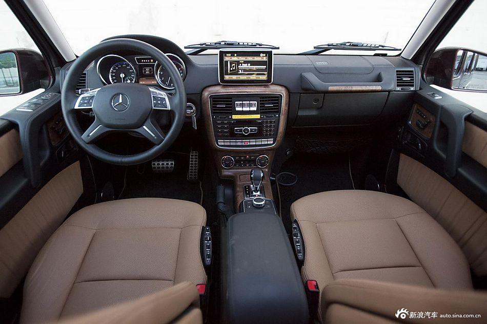 越野利器 2013款奔驰G550组图欣赏