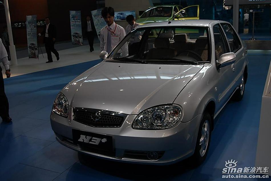 天津一汽夏利N3 夏利N3车展图图片107796高清图片