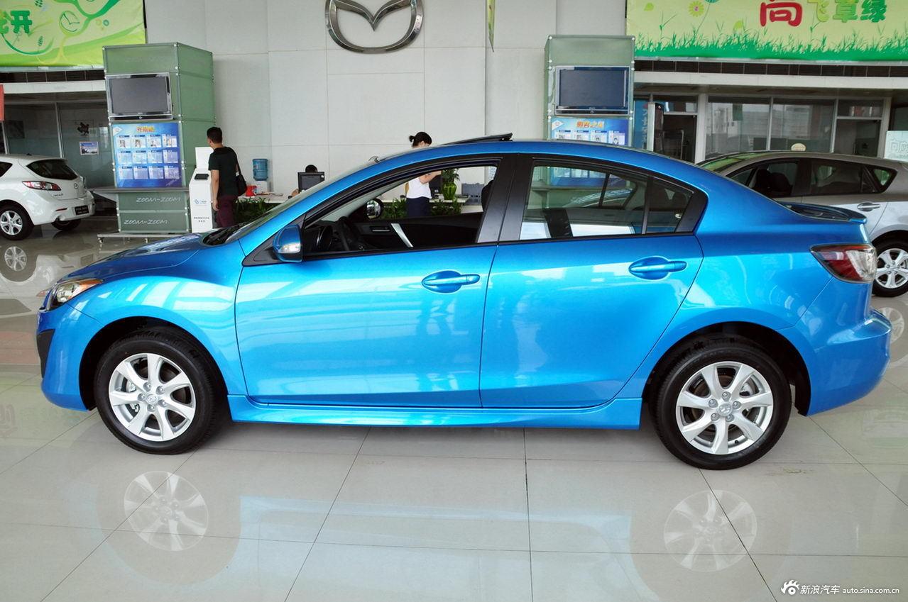 2011款马自达3星骋三厢2.0l手动运动型 蓝色