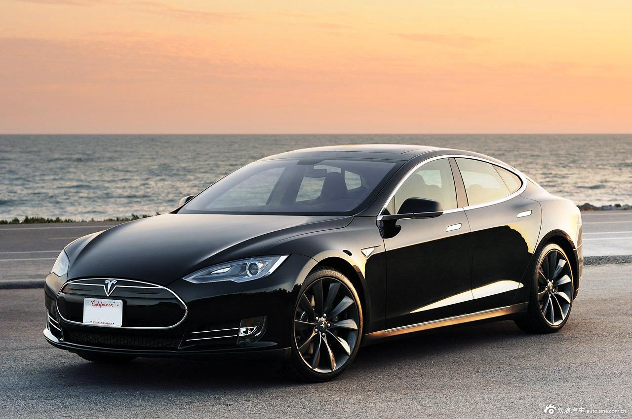 2013款特斯拉Model S高清图