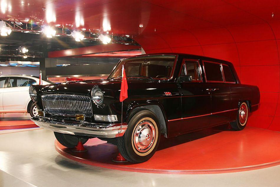 红旗汽车高清图片