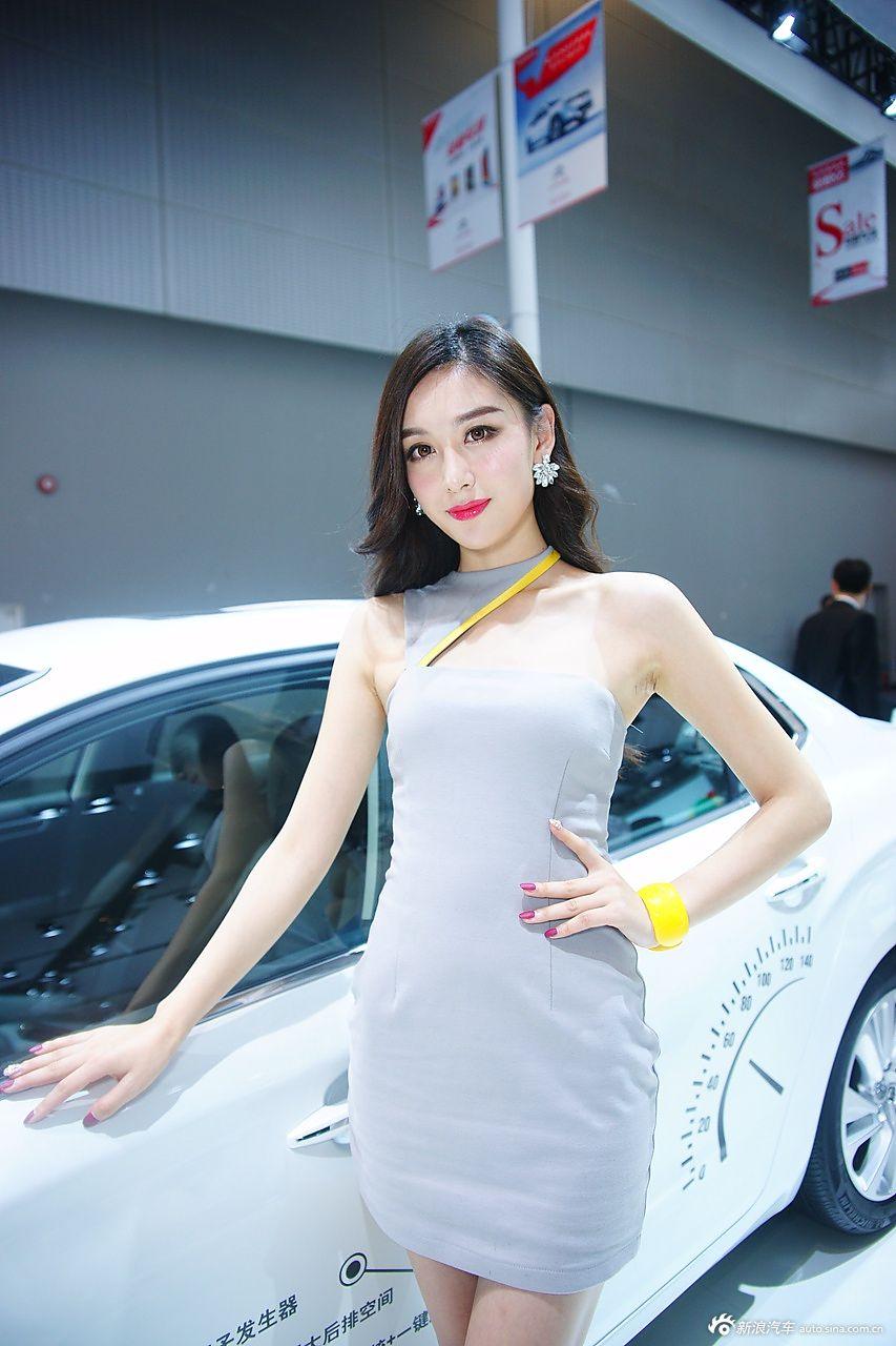 2014广州车展高清模特图:第八季