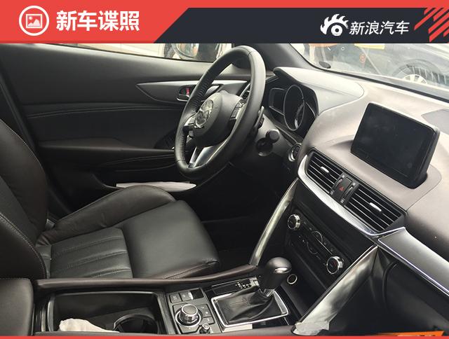 马自达CX-4内饰谍照