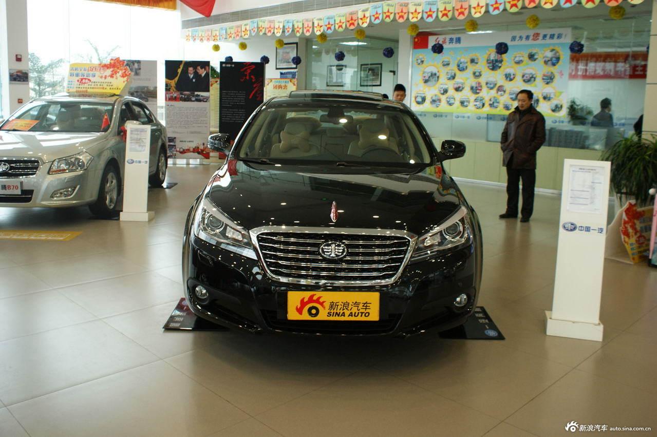 2012款奔腾B90 2.0L自动豪华型 影黑