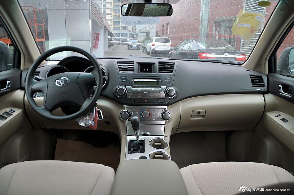 2012款汉兰达3.5L自动四驱精英版7座