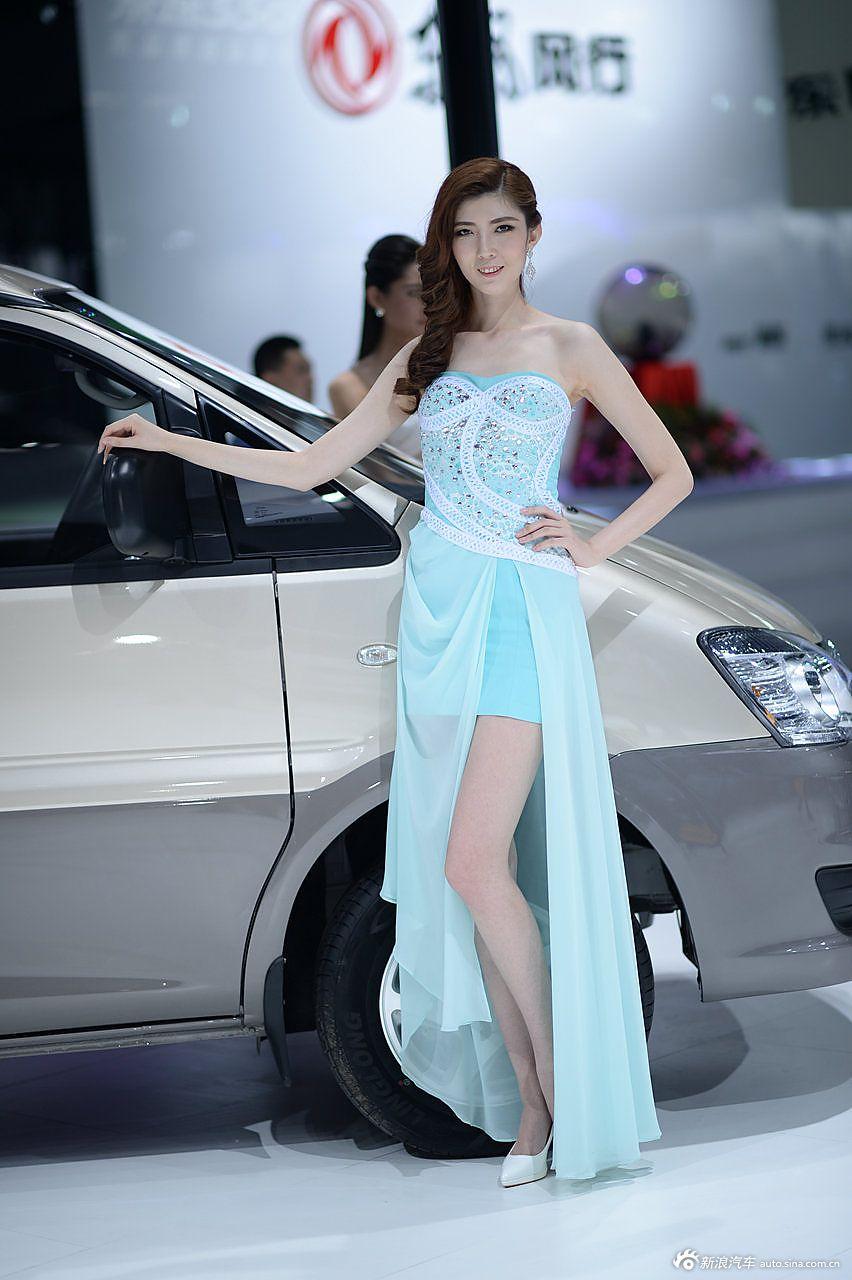 2014广州车展气质模特组图