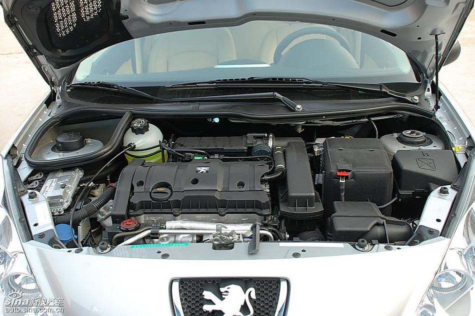 东风标致207 1.6l自动享乐版发动机 标致207三厢图片98436 汽车图库 高清图片