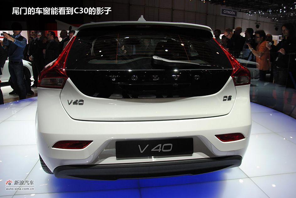 沃尔沃v40国产价格高清图片