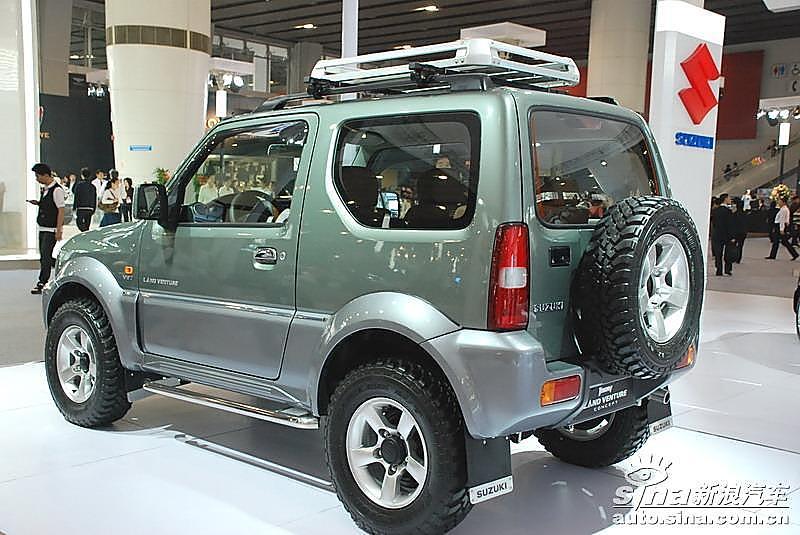 图为铃木吉姆尼车型图片.2008-11-18 23:41:20