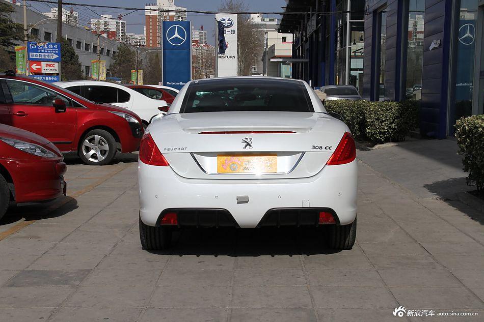 2012款标致308CC到店实拍