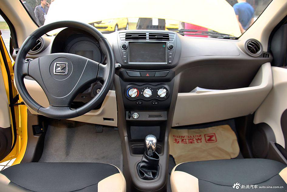 众泰云100纯电动汽车实拍高清图片