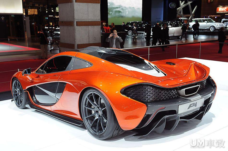迈凯轮超级跑车p1