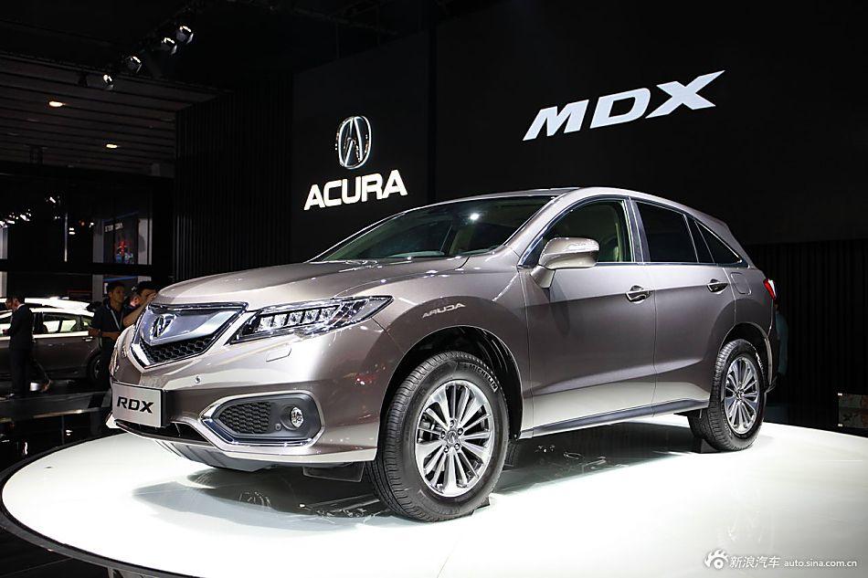 2015广州车展实拍新款讴歌RDX