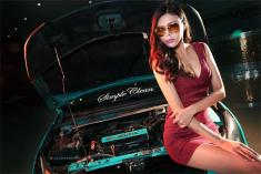 性感长腿车模真实演绎爱上清新Tiffany科鲁兹