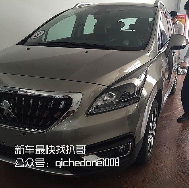 东风标致改款3008谍照曝光 北京车展首发