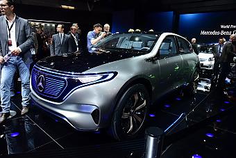 2016巴黎车展:奔驰电动SUV概念车发布